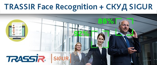 Интеграция TRASSIR Face Recognition со СКУД SIGUR